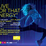 Armin van Buuren - Live @ A State of Trance 836, AFAS Live Amsterdam Dance Event - 19.10.2017