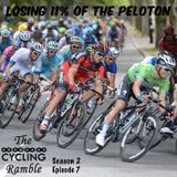 Losing 11% of the Peloton S2 Ep7