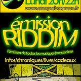 Emission RIDDIM 2 décembre 2013