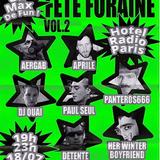 Fête Foraine #2 Boe Strummer, Dj Ouai, Aprile, her Winter bf, Paul Seul, Aergab, Detente & Panteros
