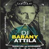 DJ Barany Attila - Live Recording @ Baroque Charme Club - 30.11.2016
