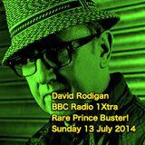 David Rodigan - BBC Radio 1Xtra - Rare Prince Buster! (Sunday 13 July 2014)
