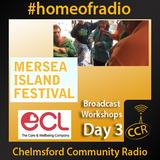Mersea Island Festival  - @eclwellbeingco - CCR Team - 26/08/15 - Chelmsford Community Radio