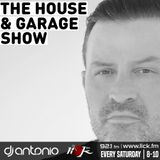 The House & Garage Show with DJ Antonio - 8th September 2018