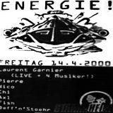 Laurent Garnier (Live + 4 Musiker) @ Energie! - Stammheim Kassel - 14.04.2000