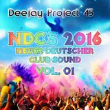 DJ Project 45 - NDCS 2016 Vol. 1