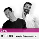 sinncast* #003 - King Of Rats (sinnmusik*/ UK)