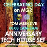 Anniversary Tech House Set (08.08.2018 Live DJ Show on MGR)