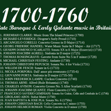 Baroque and Galante Music in Britain: 1700 to 1760