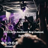 DJ Q Live at Impala in Auckland, New Zealand Sept 2019