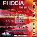 Maverickz - PHOBIA 001 Guest Mix @ Vibes Radio Station (24.11.2010)