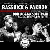 DJ FOCUZ - Warm Up Set for DBR UK @ PRP Basskick & Pakrok's B-Day Bash   Studio Bremen