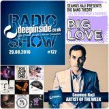 DEEPINSIDE RADIO SHOW 127 (Seamus Haji Artist of the week)