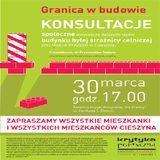 Konsultacjespołeczne. Granica w budowie: Cieszyn, 30.03.2012 cz.1