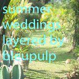 summer weddings by bleupulp