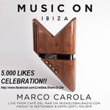 Marco Carola - Live At Music On Pre-Party, Cafe Del Mar (Ibiza) - 19-Sep-2014