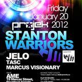 Projek : Stanton Warriors Promo Mix! Live in LA 2011