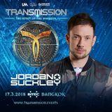 Jordan Suckley - Transmission – The Spirit Of The Warrior - 17.03.2018, at Bangkok, Thailand