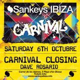Dave Rosario @ Sankeys Ibiza 8/6/12 Carnival Closing