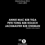 Jackmaster b2b Oneman - Live At Glastonbury Festival (Pilton, UK) - 28-06-2014