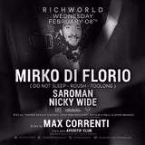 Richworld Milano top Club disco  Max Correnti + Stev Gold djset in back to back house funk re edit