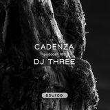 Cadenza Podcast | 163 - DJ Three (Source)