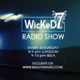 JACK ON BLACK - WICKED 7 radio show on IBIZA LIVE RADIO  11 - 3 - 2017