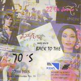 "Up-Scene ""Back To The 70s Party"" 22 De Junio 1995  Mix By Luis Ortega"