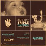 Little D. @ Kubrick - Pure Social Club || Recorded Live 27/12/2012