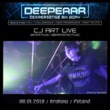CJ Art Live @ Deeperrr with Mindwave (Krakow - Poland) - Groove Stage [06.01.2018]