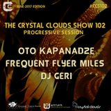 The Crystal Clouds Show 102 Guestmix By Oto Kapanadze