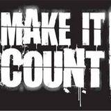 Make it count, Τετάρτη 22/03/2017