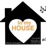 IN MY HOUSE - LET'S GO DANCING - REACTRADIO.UK - CHRIS ANNAKIN - 14.02.18