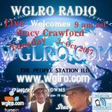 WGLRO RADIO Welcomes Stacey Crawford 10-3-2017 the DWMS