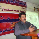 GhazalZar with Zaryab Yousafzai FM 96  ( Dr. Ali khel Daryab Chairman Pashto Department UOM)