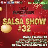 Salsashow 32 - Podcast Diciembre 2017 - Vdj Hacker