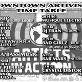 Downtown    ARTIVISTA TIME TABLE