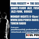 The Session with Paul Fossett on www.soulpower-radio.com