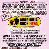 # 160 Arariboia Rock News - 13.12.2017 - Especial Rock na Pista
