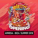 Amnesia Ibiza [Opening Elrow 2K18]