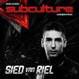 Sied Van Riel – Live @ Subculture, Mandarine Park Buenos Aires, Argentina – 12-JUL-2014