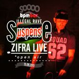 zifra live set on #suspense @ open air 15-08-2015