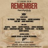 Suze @ Family Club, Remember Party, Sonseca, Toledo (2018)