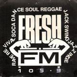 Fresh FM 105.5 Leicester: Hardcore Trio, July 1993