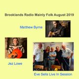 Brooklands Radio Mainly Folk August 2019