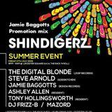 SHINDIGERZ SUMMER EVENT PROMOTION MIX