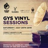 Vol 496 GYS Vinyl Sessions: Wenawedwa 23 July 2019