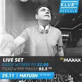 MATUSH live set @ RMFMaxxx / Klub FM 25.11.14