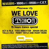 LXD @ We Love Technoclub Day, Afterhours.fm (16.12.2015)