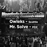 Disorderly Conduct Radio Mix (10-26-16)